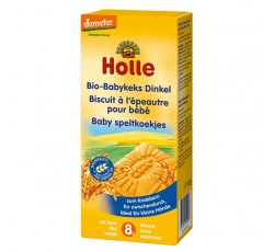 Holle Bio Biscoitos Trigo Espelta 8M+ 150G