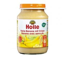 Holle Bio Pure Banana Semolina 6M 190G