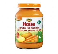 Holle Bio Pure Cenoura Batata 4M 190G