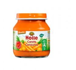 Holle Bio Pure Cenouras 4M 125G