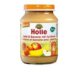 Holle Bio Pure Maça Banana Alperce 6M 190G