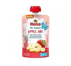 Holle Bio Pure Saq Apple Ant Maça+Ban+Pera 6M 100G