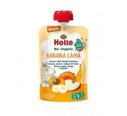 Holle Bio Pure Saq Banana Lama Ban+Mc+Mang+Al 6M 100Gr