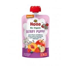 Holle Bio Pure Saq Berry Puppy Maça+Pes+Fr Verm 8M 100G