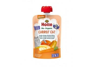 Holle Bio Pure Saq Carrot Cat Cenoura+Frutos 6M 100Gr