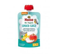 Holle Bio Pure Saq Croco Coco Maça+Mang+Coco 8M 100G
