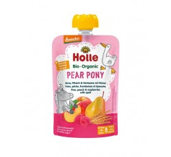 Holle Bio Pure Saq Pear Pony Pera Pessego Fram 100Gr