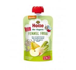 """Holle Bio Pure Saq Pera Maça Funcho """"Fennel Frog"""" 6M 100G"""