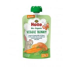 Holle Bio Pure Saq Veggie Bunny Legumes 100G