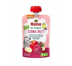 Holle Bio Pure Saq Zebra Beet Maça Bana 6M 100G
