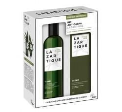 J.F. Lazartigue Kit Anticaspa Clear Champô Antipelicular 250 mL + Clear Pós-Champô Antipelicular 75 mL Com Preço Especial