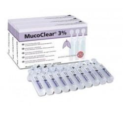 Mucoclear 3% Ampolas 4 mL X 20