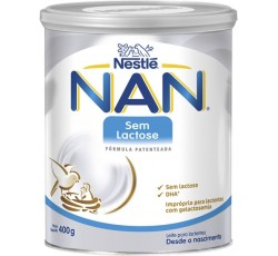 Nan Sem Lactose Leite Po 400G