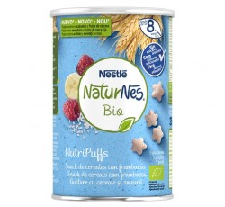 Naturnes Bio Nutripuffs Framboesa 35G