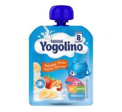 Nestle Iogolino Banana Morango 90G 8M