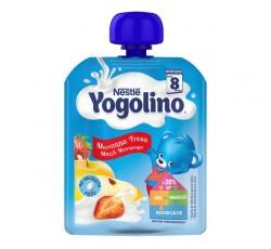 Nestle Iogolino Maca Morango 90G 8M