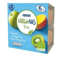 Nestle Naturnes Bio Mac/Manga/Kiwi 4X90G
