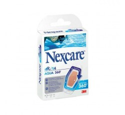 Nexcare Aqua 360 Penso Sort X 14