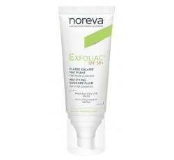 Noreva Exfoliac Fluido Solar Spf50+ 40 mL
