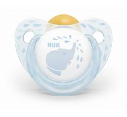 Nuk Chupeta T1 Chup Latex Baby Blue