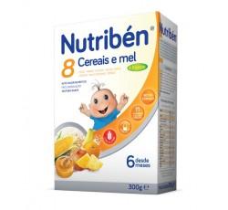 Nutriben Farinhas 8 Cereais Mel 4 Frut 300G