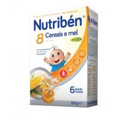 Nutriben Farinhas 8 Cereais Mel Bifido 300G