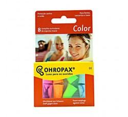 Ohropax Tampoes Aud Espuma Macia Color X8