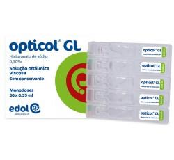 Opticol Gl Solução Oftálmica 0,30% 0,35mL X30