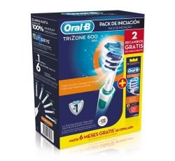 Oral B Trizone Elect 600+Recarg X2+Pasta