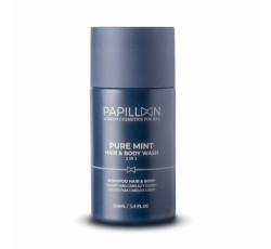 Papillon Pure Mint Hair&Body Wash 100mL