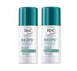 Roc Higiene Deo Keops Stick 40 mL Promo Duo