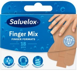 Salvelox Finger Penso Plast Mix X 18