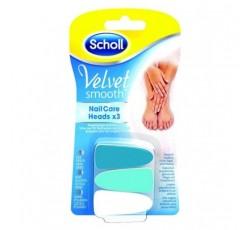 Scholl Velvet Smooth Recarga Lima Elect X3