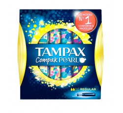 Tampax Compak Pearl Tampao Aplic Regx18