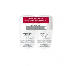 Vichy Desodorizante Antitranspirante 48H Roll-On Pele Sensivel Duo