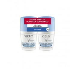 Vichy Desodorizante Mineral Roll-On Duo