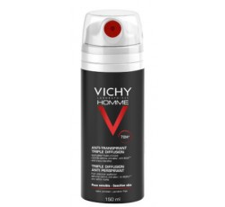Vichy Homme Desodorizante Tripla Difusão 72H 150mL