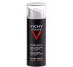 Vichy Homme Hydra Mag C +  Hidratante Antifadiga Rosto E Olhos 50mL