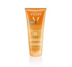 Vichy Ideal Soleil Leite-Gel Com Wet Technology Para Pele Molhada Ou Seca Fps50 200mL