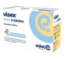 Visex Bébé E Adulto Compressas Ester Periocul X 20