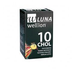 Wellion Luna Tira Sangue Colest X10
