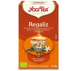 Yogi Tea Bio Cha Alcaçuz 17 Saq