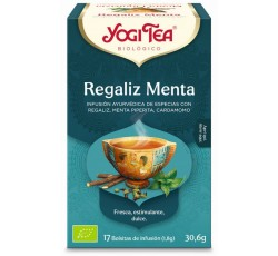 Yogi Tea Bio Cha Alcacuz Menta 17 Saq