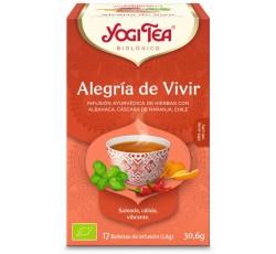 Yogi Tea Bio Cha Alegria De Viver 17 Saq