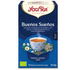 Yogi Tea Bio Cha Boas Noites 17 Saq