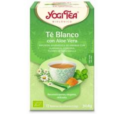 Yogi Tea Bio Cha Branco Aloe Vera 17 Saq