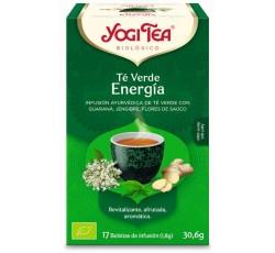 Yogi Tea Bio Cha C. Verde Energia 17 Saq