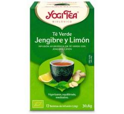 Yogi Tea Bio Cha C. Verde Gengibre Limao 17 Saq