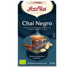 Yogi Tea Bio Cha Chai Preto 17 Saq