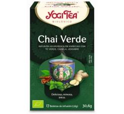 Yogi Tea Bio Cha Chai Verde 17 Saq